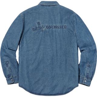 Supreme - 込み L Supreme Sherpa Lined Denim Shirt