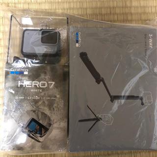 ゴープロ(GoPro)のGoPro HERO7 ホワイト(ビデオカメラ)