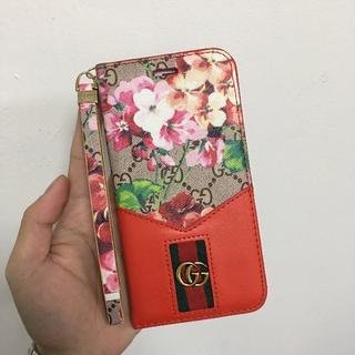 クチャ(cuccia)のGUCCI iphone 7/8 plusケース  手帳型 携帯電話ケース  (iPhoneケース)