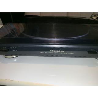 Pioneer - Pioneer ステレオターンテーブル PL-J2500 レコードプレーヤー