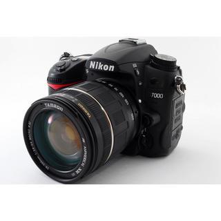 ニコン(Nikon)の★広角から望遠までカバー!Wi-Fiカード★ニコン D7000 レンズセット(デジタル一眼)