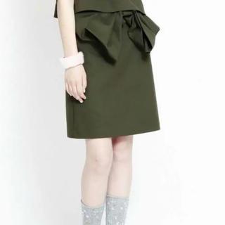 ファーファー(fur fur)のFURFUR スカート(ひざ丈スカート)