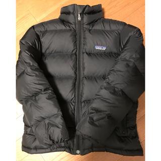 パタゴニア(patagonia)のパタゴニア ダウンジャケット 140 ボーイズM S 黒(ジャケット/上着)