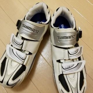 シマノ(SHIMANO)のビンディングシューズSH-R087(ウエア)