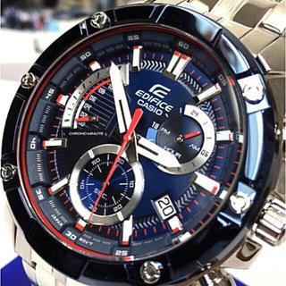 エディフィス(EDIFICE)の新品 CASIO EDIFICE エディフィス スクーデリア・トロ・ロッソ(腕時計(アナログ))