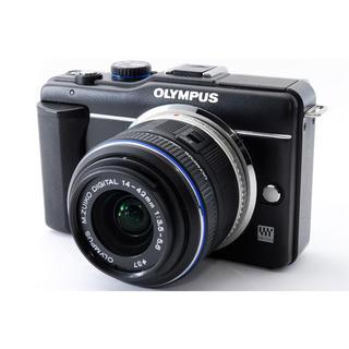 OLYMPUS - ★Wi-Fi簡単転送★OLYMPUS オリンパス E-PL1s ブラック