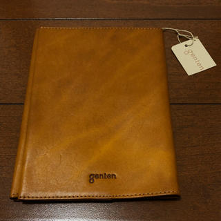 ゲンテン(genten)の新品未使用 ♡ genten ゲンテン トスカ ブックカバー(ブックカバー)