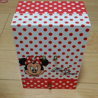 ディズニー(Disney)のミニーマウス オルゴール アクセサリーケース(小物入れ)