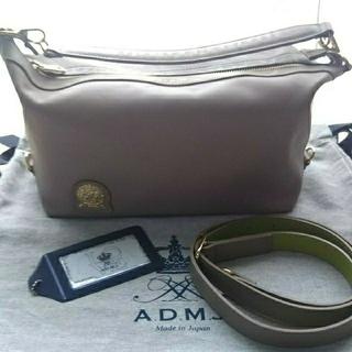 エーディーエムジェイ(A.D.M.J.)のADMJ  子牛革2ウェイバッグ(ハンドバッグ)