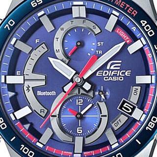 エディフィス(EDIFICE)のスクーデリア・トロ・ロッソ・リミテッドエディション/EQB-900TR-2AJR(腕時計(アナログ))