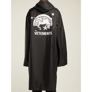 VETEMENTS unicorn rain coat(レインコート)