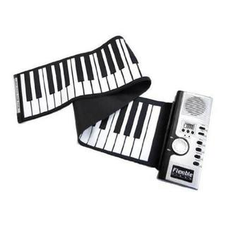 コンパクト どこでも持ち運べる バンドロール 電子  (61鍵盤)  ピアノ(電子ピアノ)