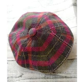 ジンボリー(GYMBOREE)のGYMBOREE♡ウールお洒落kidsベレー帽♡1~2歳♡49cm♡女の子(帽子)