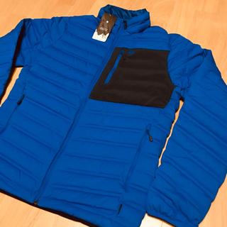 パタゴニア(patagonia)のマウンテンハードウェア 新品 ストレッチダウン ジャケット メンズS(登山用品)
