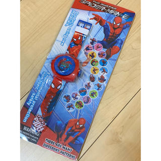 スパイダーマン 大人気 子供用 腕時計 プロジェクター付き(腕時計)