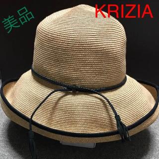 クリツィア(KRIZIA)のKRIZIA  ストローハット(麦わら帽子/ストローハット)