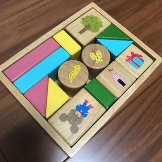 クマノガッコウ(くまのがっこう)のジャッキーの積み木セット(積み木/ブロック)