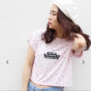 ジュエティ(jouetie)のjouetie フラワーロゴT 新品タグ付き(Tシャツ(半袖/袖なし))