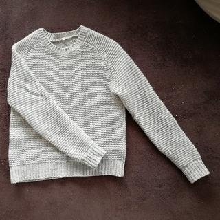 MUJI (無印良品) - ニット セーター ウール クルーネック ラグラン