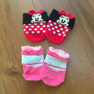ディズニー(Disney)のベビーソックス 2足セット(靴下/タイツ)