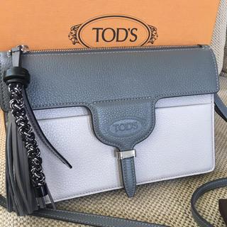 トッズ(TOD'S)の新作トッズ 新品 バッグ ショルダーポシェット*トートフラワーケープセラDバッグ(ショルダーバッグ)