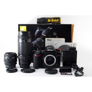 ニコン(Nikon)の★極上級★Nikon ニコン D750 超望遠ダブルレンズ(デジタル一眼)