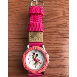ディズニー(Disney)の子供用 Disneyミニーちゃん腕時計(腕時計)
