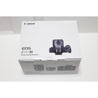 Canon - 新品 Canon EOS Kiss M レンズ、SDカードセット 白
