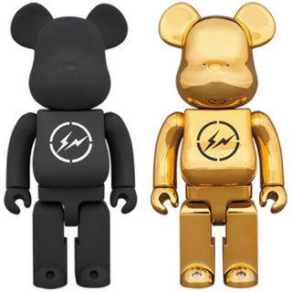 FRAGMENT - 二体 THE CONVENI fragment BE@RBRICK 400%