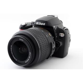 ニコン(Nikon)の★軽量コンパクトモデル♪Wi-Fiカード付き★ニコン D60 レンズキット(デジタル一眼)