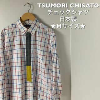 ツモリチサト(TSUMORI CHISATO)の★古着★日本製★ツモリチサト チェックシャツ★Mサイズ★(シャツ)