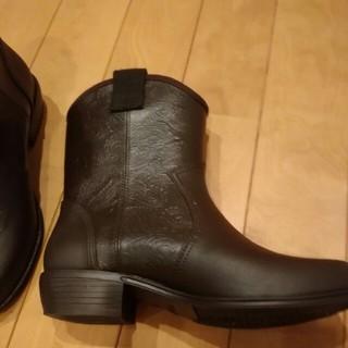 クロックス(crocs)のウエスタンブーツ風レインシューズM 長靴23.5(レインブーツ/長靴)