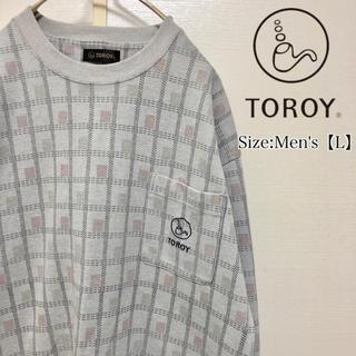 トロイ(TOROY)のTOROY スウェット トレーナー レトロデザイン(スウェット)
