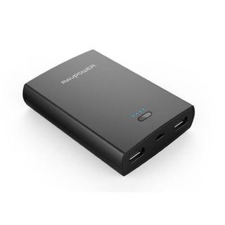 新品 RAVPOWER 10400mAh モバイルバッテリー大容量(バッテリー/充電器)