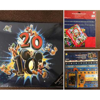 Disney - 【新品未使用】ディズニーワールド2010年記念アルバム+スクラッチセット