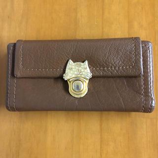 ツモリチサト(TSUMORI CHISATO)のツモリチサト カリヤネコ 長財布(財布)