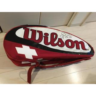 ウィルソン(wilson)のWilson ウィルソン テニスバッグ フェデラーモデル(バッグ)