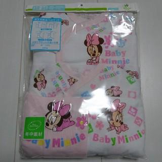 ディズニー(Disney)の新品未開封ベビーミニー新生児肌着5点セットミニーマウス(肌着/下着)