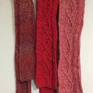 手編みマフラー(マフラー/ストール)