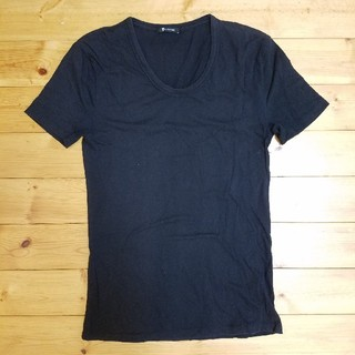 アレキサンダーワン(Alexander Wang)のT by Alexander Wang UネックTシャツ(Tシャツ/カットソー(半袖/袖なし))