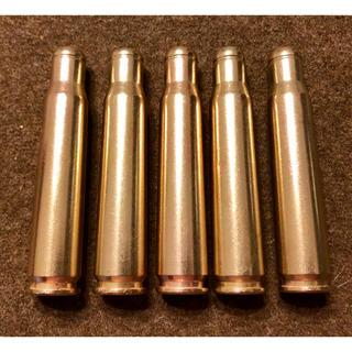 実物 自衛隊 12.7mm 空砲薬莢 5個(モデルガン)