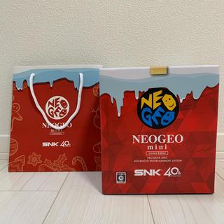 ネオジオ(NEOGEO)のNEOGEO mini クリスマス版(家庭用ゲーム本体)
