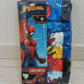 新品 スパイダーマン パンツ 6枚セット