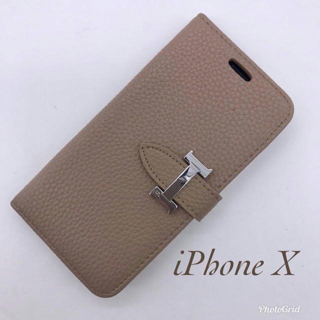 ジバンシィ iphone7plus ケース 財布 | 訳あり☆NoaHsarK☆iPhone X IPX-013 オリーブの通販 by ゆき's shop|ラクマ