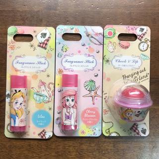 ディズニー(Disney)の新品 フレグランス スティック チーク&リップカラー ディズニーストア アリス(香水(女性用))