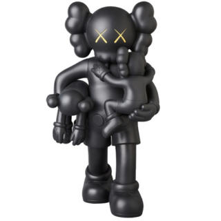 MEDICOM TOY - KAWS CLEAN SLATE BROWN/GREY/BLACK 黒 ブラック
