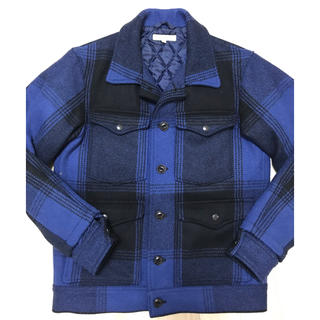 ダブルタップス(W)taps)のDESCENDANT  lumberjack jacket   Mサイズ 美品(ブルゾン)