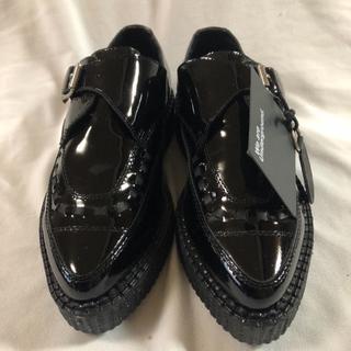 ドクターマーチン(Dr.Martens)の新品、未使用品アンダーグラウンド☆厚底☆モンクストラップ(ローファー/革靴)