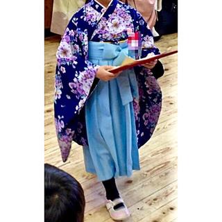 キャサリンコテージ(Catherine Cottage)のキャサリンコテージ 袴 着物ドレス 120 4点セット(和服/着物)