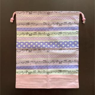 カラフルキャンディスタイル 巾着(ランチボックス巾着)